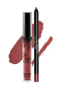 Kylie Cosmetics - Batom E Lápis Matte - Kristen