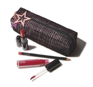 MAC - Kit Starlit Lip Bag - Red