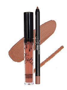 Kylie Cosmetics - Batom E Lápis Matte - Dolce K