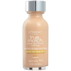 L'Oreal -  Base True Match Super-Blendable - Light Ivory W2