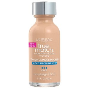 L'Oreal -  Base True Match Super-Blendable - Ivory Beige C2.5