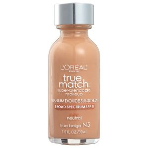 L'Oreal -  Base True Match Super-Blendable - True Beige N5