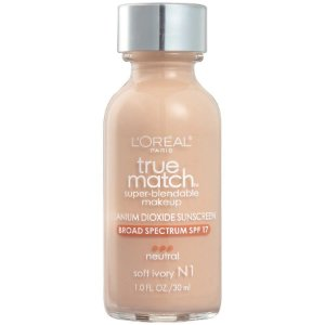 L'Oreal -  Base True Match Super-Blendable - Soft Ivory N1
