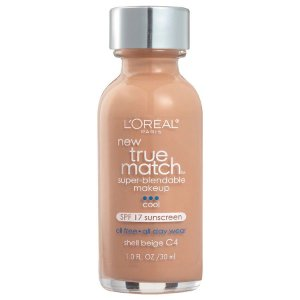 L'Oreal -  Base True Match Super-Blendable - Shell Beige C4