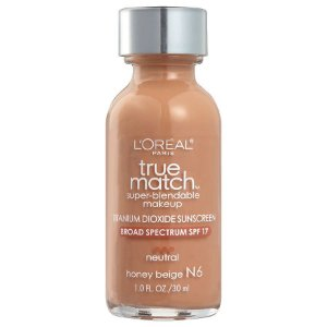 L'Oreal -  Base True Match Super-Blendable - Honey Beige N6