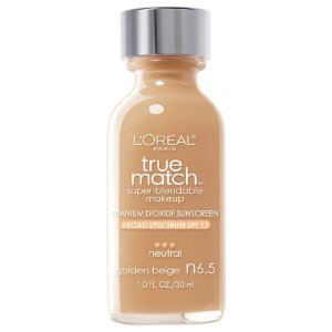 L'Oreal -  Base True Match Super-Blendable - Golden Beige N6.5