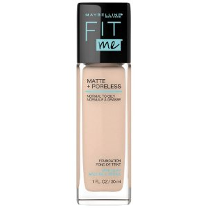 Maybelline - Base Fit Me Matte + Poreless - Classic Ivory 120