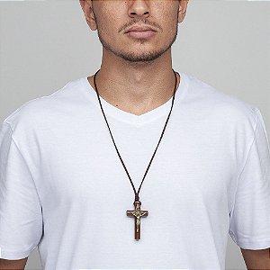 Colar Crucifixo São Bento