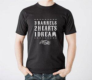 Camiseta 3 Barrels Chumbo