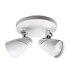 Projetor Duplo para Lâmpada Dicróica GU5,3