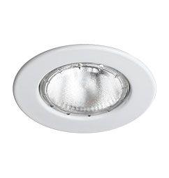 Spot Embutido Circular E27 para Lâmpada Incandescente Refletora  e PAR20