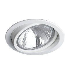 Spot Embutido Circular Direcionável para Lâmpada PAR30