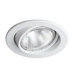 Spot Embutido Circular Direcionável para PAR20 e Incandescente Refletora