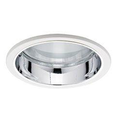 Luminária de Embutir Visor Recuado 15cm 1xG12
