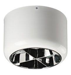 Luminária de Sobrepor com Aletas 24cm 2xE27/UN-4p