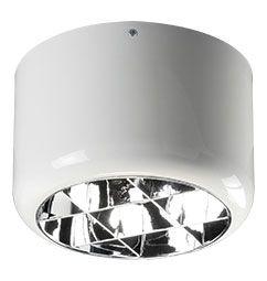 Luminária de Sobrepor 24cm 2xE27/UN-4p com Aletas