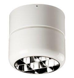 Luminária de Sobrepor 24x20cm 1xRS7s com Aletas