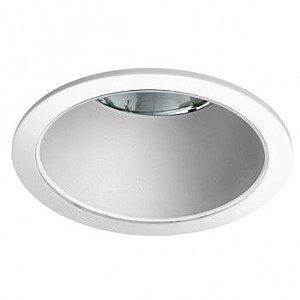 Luminária Redonda de Embutir 22,5cm 2xUN-4p