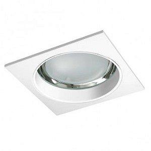 Luminária de embutir Vidro Recuado 1xRX7s 22x22cm