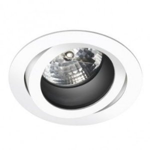 Spot Redonda Antiofuscante Foco Recuado Direcional 16cm AR111