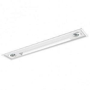Luminária Embutir Wall Washer 15x84cm Foco Direcional PAR20
