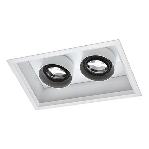 Luminária Retangular Embutir 18,5x30cm 10W 2700K AR70