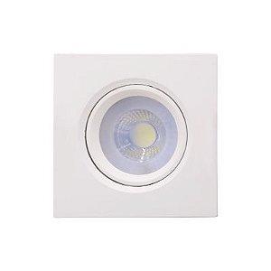 Spot Embutido Poli 7W 2700K LED 11,2x11,2cm