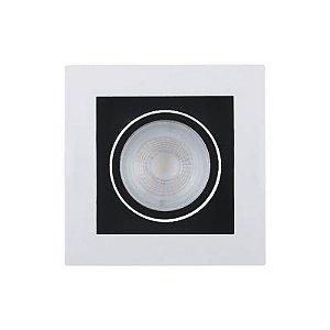 Spot Embutido Poli 5W 2700K LED 10,2x10,2cm