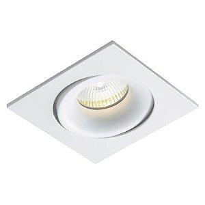 Spot Luna Quadrado Embutir 10,5x10,5cm Dicróica