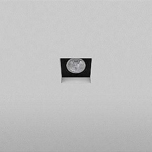 Spot Embutido Quadrado 10,5x10,5cm PAR20 50W
