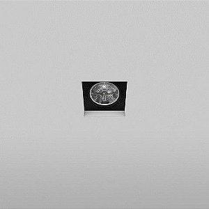 Spot Quadrado Embutido 15,5x15,5cm AR111 50W