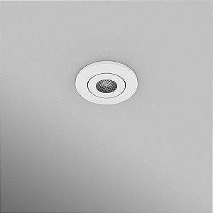 Spot Circular Embutido 5,2cm 3W 270lm 2700K