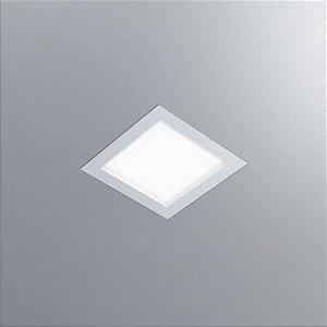 Luminária Quadrada Embutir DAX 22,5x22,5cm