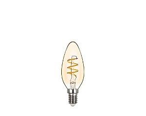Lâmpada LED Vela Lisa Espiral Vintage 2,5W 180LM 2400K