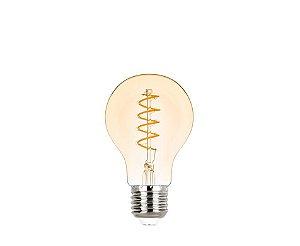 Lâmpada LED Bulbo Espiral Vintage 2,5W 200LM 2400K E27