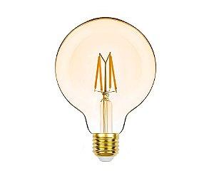 Lâmpada LED Filamento Vintage G95 4,5W 350lm 2400K