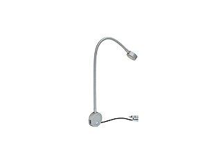 Arandela de Leitura Lox led com Carregador USB