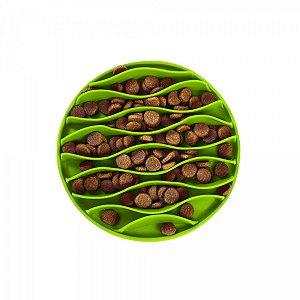 Comedouro lento - Fun Feeder mat Verde