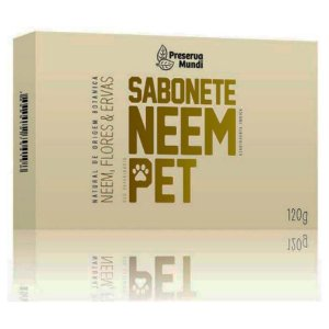 Sabonete Neem Pet - Preserva Mundi 120g