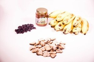 Biscoito natural PF Animal - BANANA COM MEL E CRANBERRY 150g