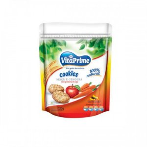 Cookie Integral Maçã e Cenoura - VitaPrime 150g