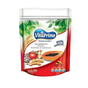 Biscoito Integral Mamão, Maçã e Linhaça - VitaPrime 200g