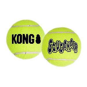 Brinquedo KONG Squeaker Bola de Tênis M
