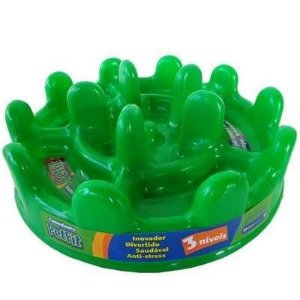 Comedouro Lento - Pet Fit Verde
