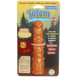 Mordedor Soft - Totem Laranja Pet Games