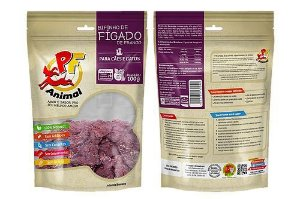 Petisco Natural Bifinho de Fígado de Frango - PF Animal 100g
