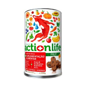 Petisco Snack ACTIONLIFE Spin Pet - 200g - Fruit