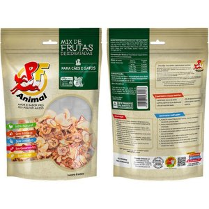 Petisco Natural Mix de Frutas Desidratadas - PF Animal