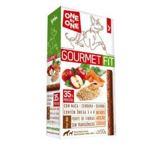 Petisco Stick GOURMET FIT Spin Pet - 50g - Maçã + Cenoura + Quinoa