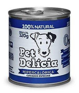 Alimentação Natural Receita Hipercalorica 320g - Pet Delícia